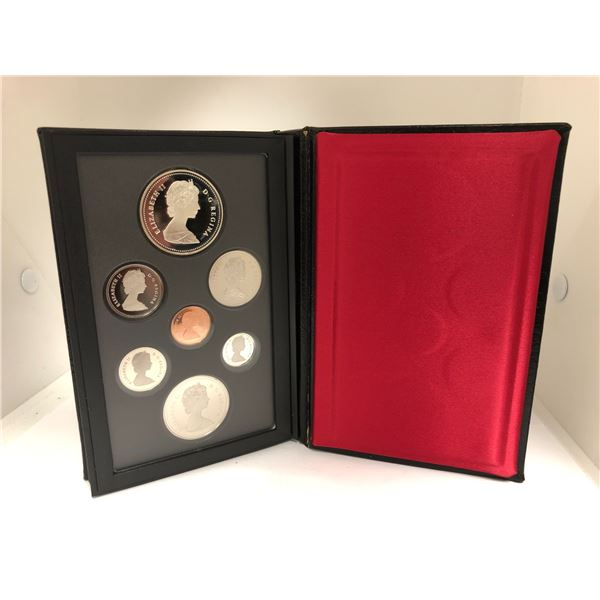 Royal Canadian Mint 1986 Coin Set