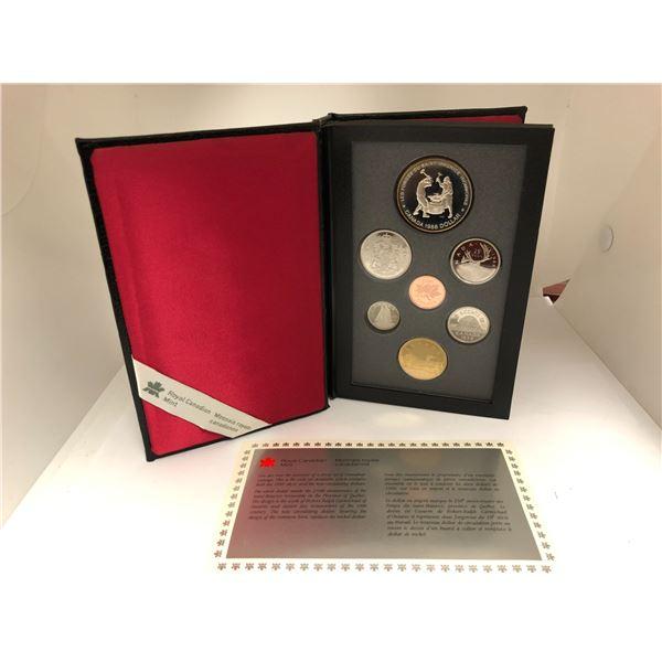 Royal Canadian Mint 1988 Coin Set