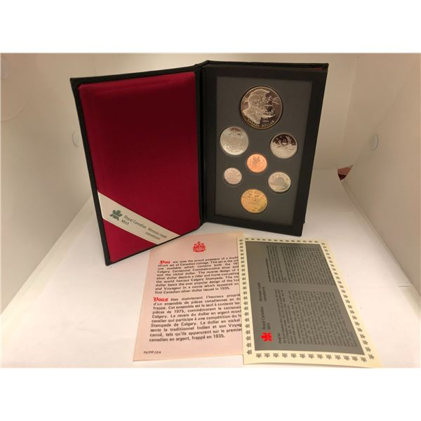 Royal Canadian Mint 1995 Coin Set
