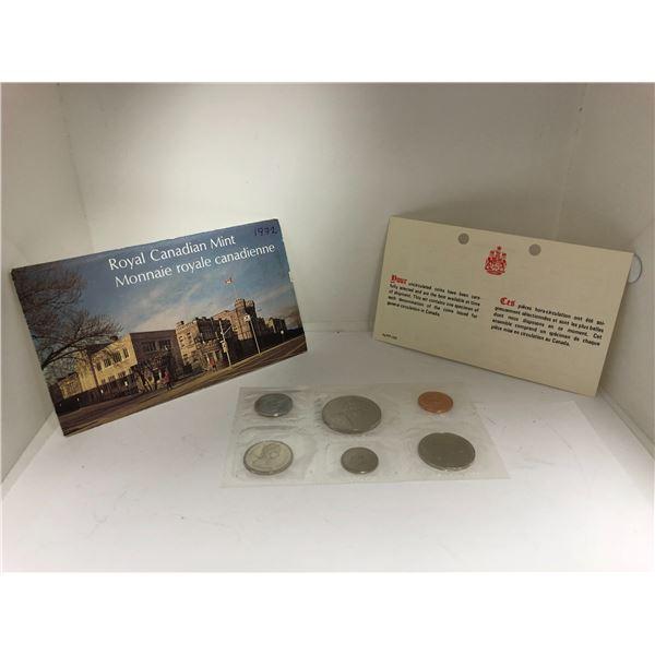 Royal Canadian Mint 1972 Coin Set