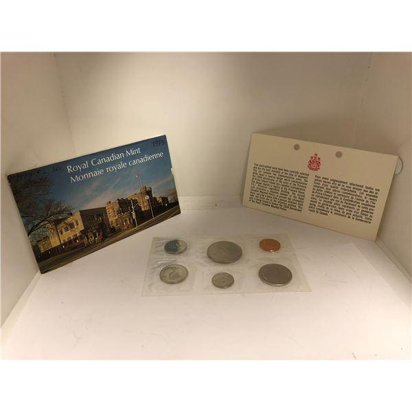 Royal Canadian Mint 1973 Coin Set