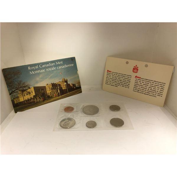 Royal Canadian Mint 1974 Coin Set