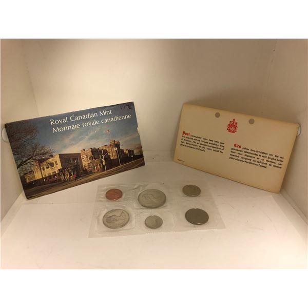 Royal Canadian Mint 1976 Coin Set