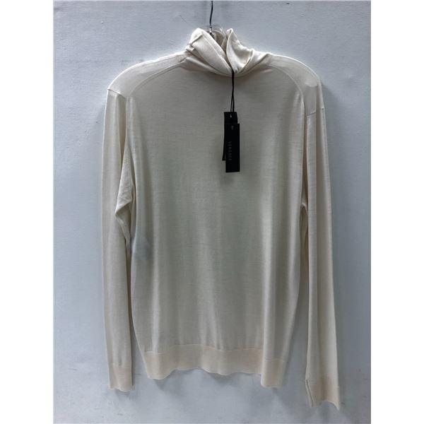 Versace ladies sweater size 60 (off-white/ ivory)