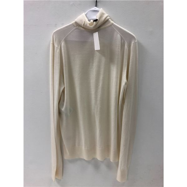 Versace ladies sweater size 46 (off-white/ ivory)