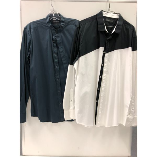 Two men's shirts - Antony Morato 52 XL & INC XL