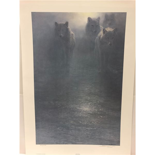 """Seerey-Lester """"Frozen Moonlight"""" limited edition #853/2500 print signed by artist - comes w/ COA"""