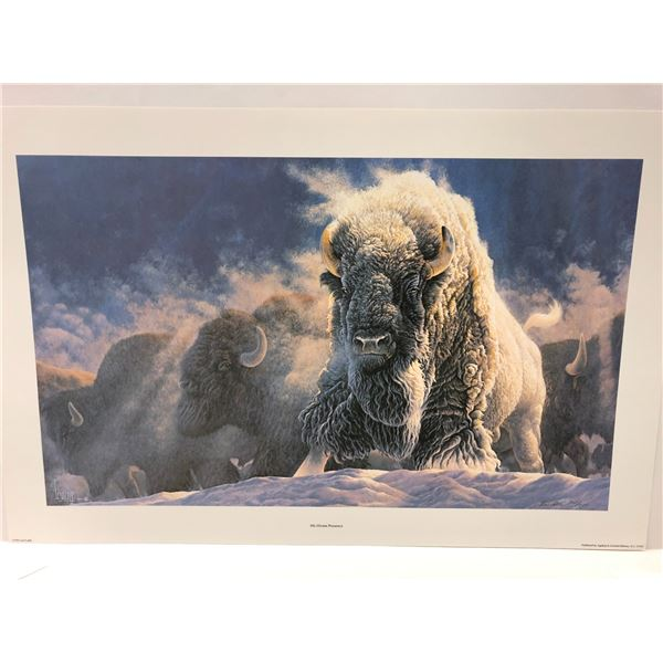 """Lee Cable """"His Divine Presence"""" limited edition #361/500 print signed by artist - comes w/ COA"""