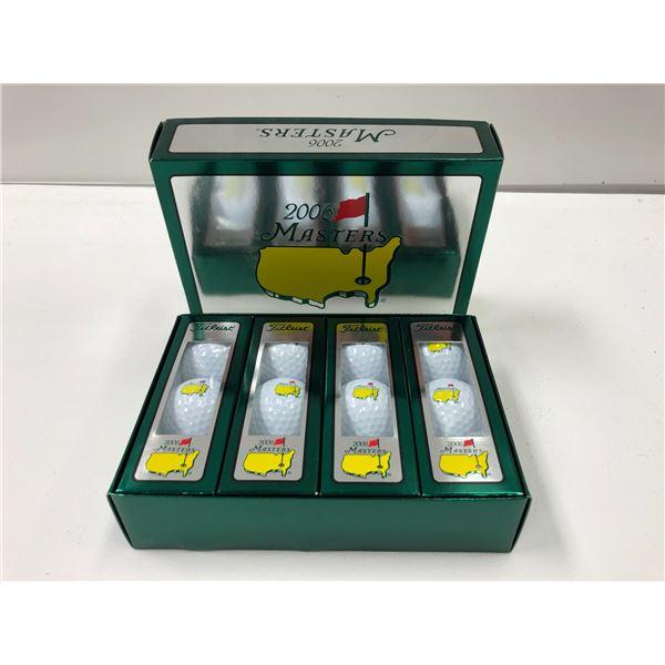 2006 Masters box of 1 dozen Titleist golf balls