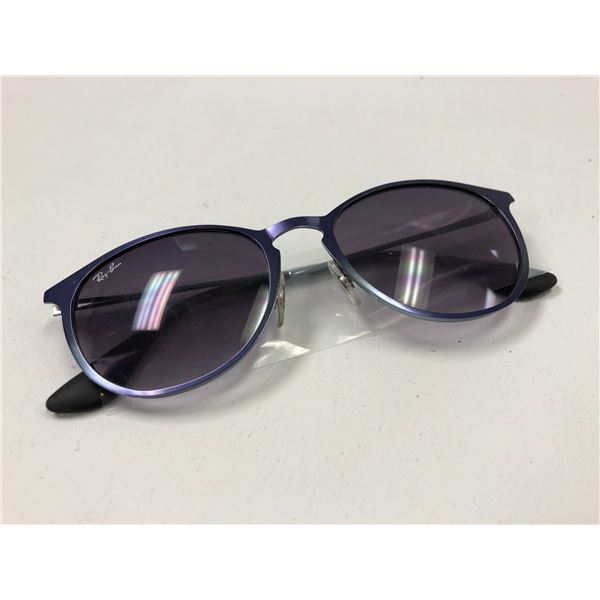 One pair of Ray Ban sunglasses