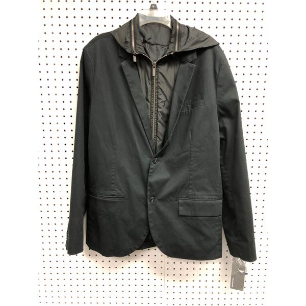 Kenneth Cole Reaction men's black jacket size XL