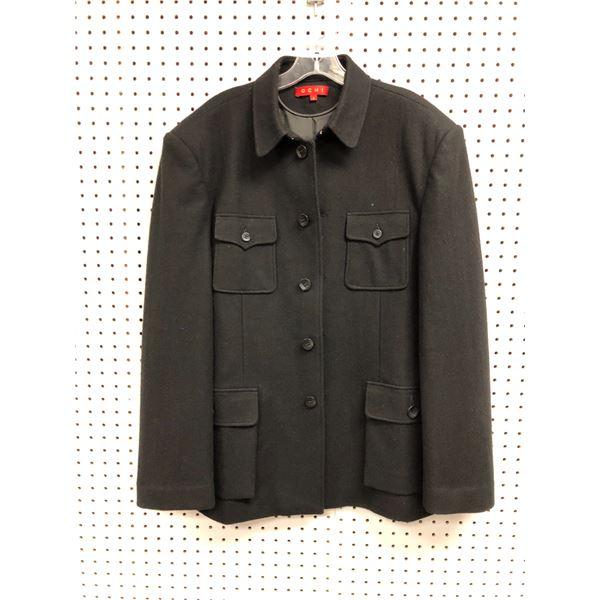 Ochi men's black jacket size 8