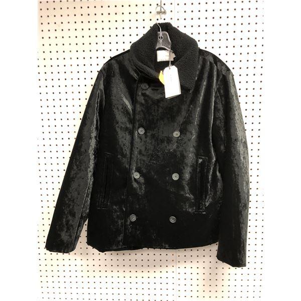 Topman Premium men's black jacket UK Large to fit chest 40-42in