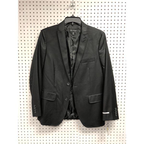 INC men's slim fit black blazer size M