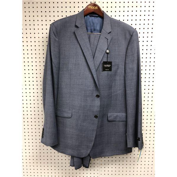 Ralph Lauren slim fit men's blue 2pc. suit size 50LONG - 45W