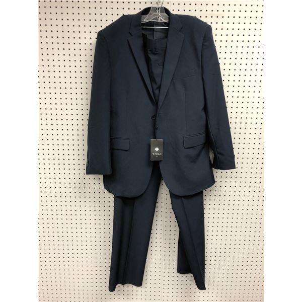 Vitto Italy men's dark blue 2pc. suit size 42R - 36W