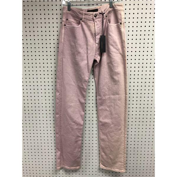 Pair of Versace ladies jeans size 32 pink