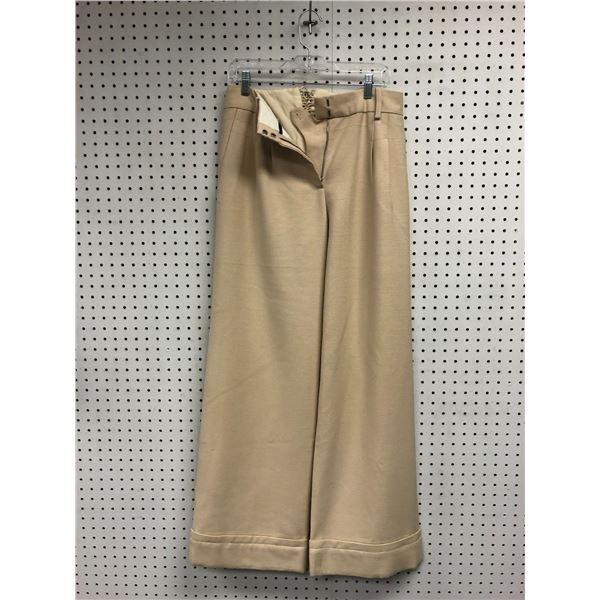 Pair of Marc Jacobs ladies size 8 beige pants