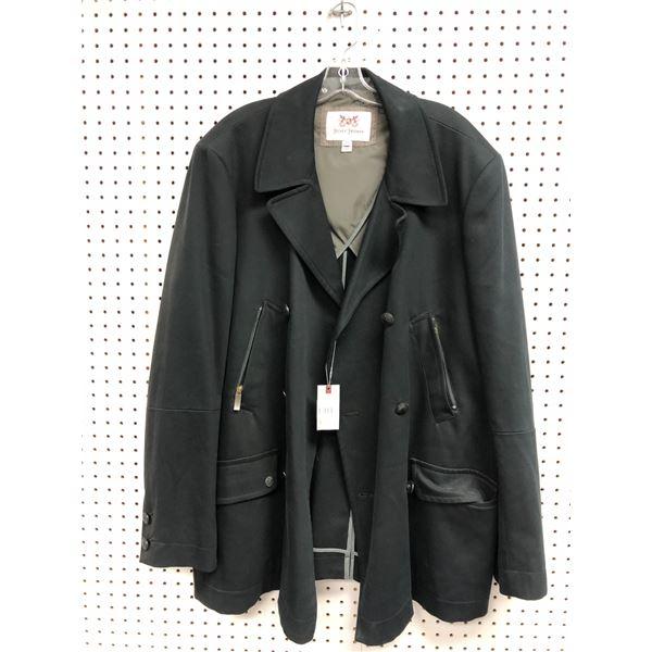 Hickey Freeman men's black jacket XXL
