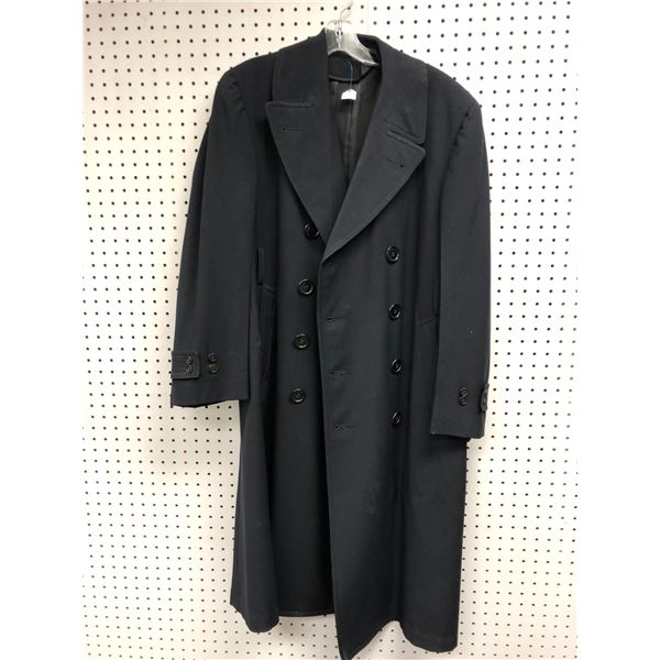 Regulation US Navy uniform men's trench coat size L