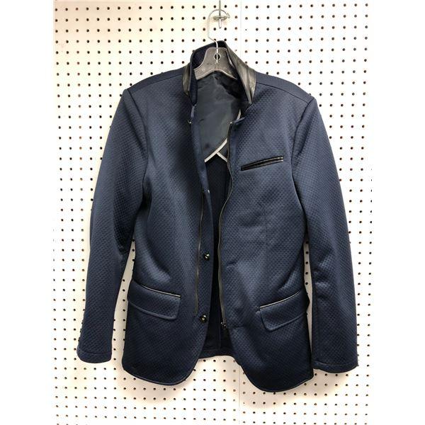Le Chateau slim fit men's navy blue jacket size M