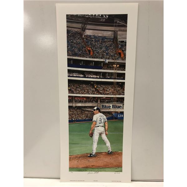 """""""Pitcher Perfect"""" by Les Tait Dave Stieb Toronto Blue Jays limited edition print - signed by Dave St"""