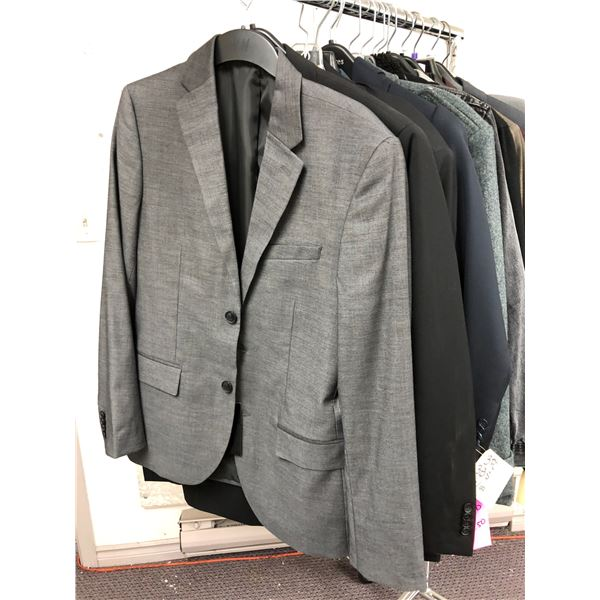 Approx. 14 pcs. of assorted men's dress jackets & coats from film production company - some new some