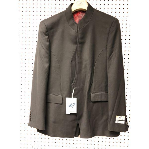 Rossi Man 3 pc. men's black suit - size 46R