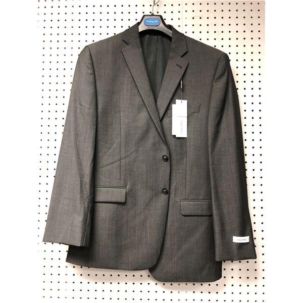Calvin Klein slim fit men's grey dress jacket - size 42R