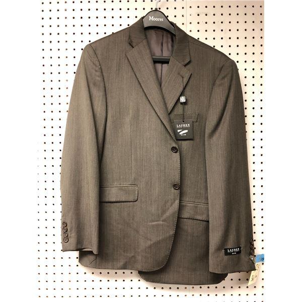 Ralph Lauren slim fit men's grey dress jacket - size 42S