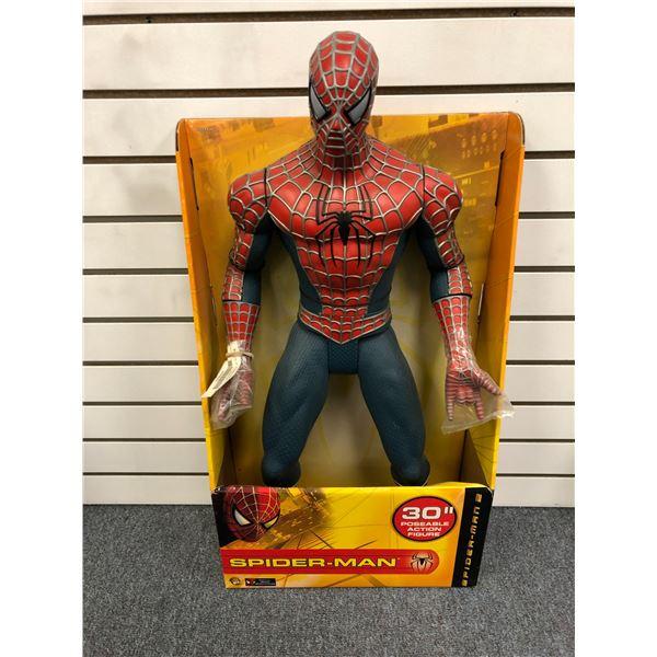 Marvel Spider-Man 2 30in poseable Spider-Man action figure (Toy Biz in original box)