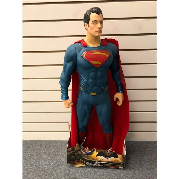 "DC Comics ""Batman v Superman"" 31in Superman action figure (Jakks Pacific in original box)"