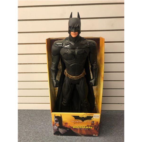 "DC Comics ""Batman Begins"" 31in Batman action figure (Mattel in original box)"