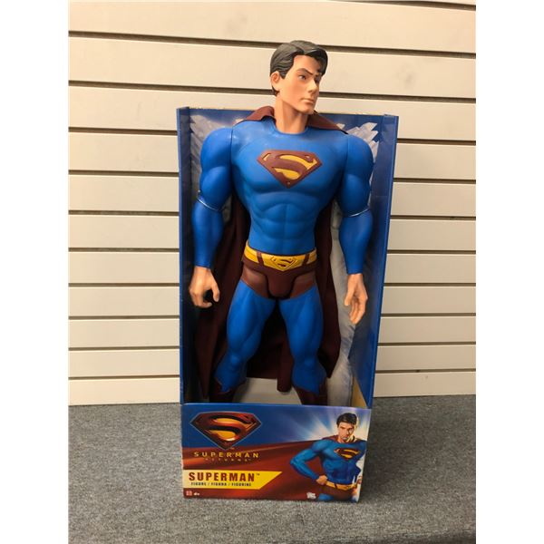 DC Comics Superman Returns 31in Superman action figure (Mattel in original box)
