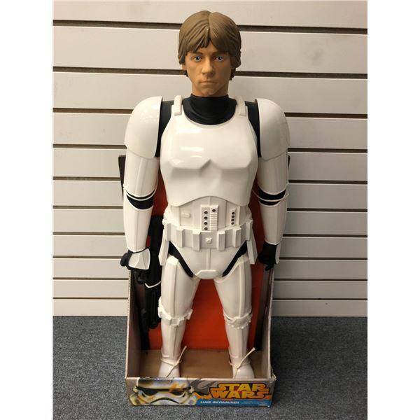 Star Wars Luke Skywalker 31in action figure ((Jakks Pacific in original box)