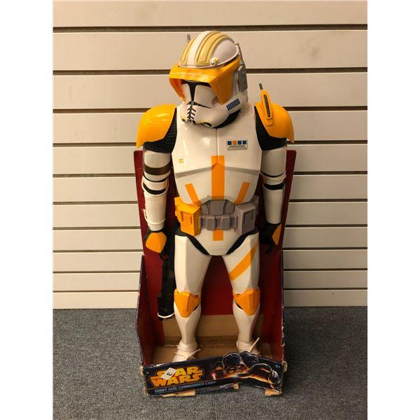 Star Wars giant size 31in Commander Cody action figure (Jakks Pacific in original box)