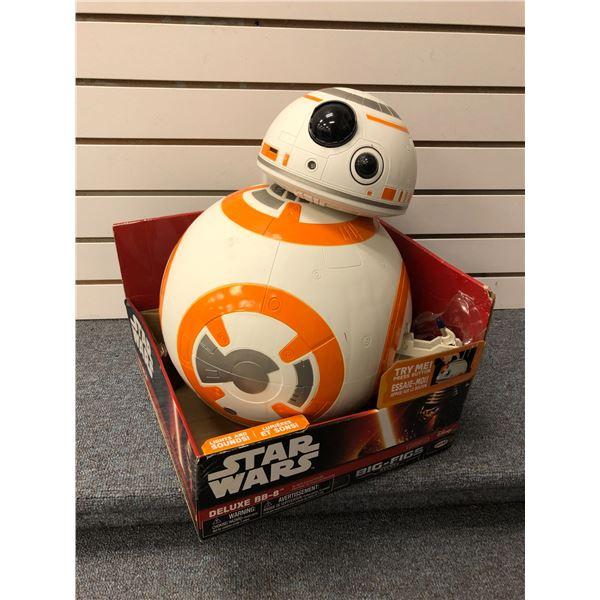 Disney Star Wars Deluxe BB-8 18in action figure (Jakks Pacific in original box)