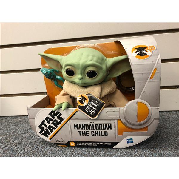 "Disney Star Wars ""The Mandalorian"" ""The Child"" action figure (Hasbro in original box)"
