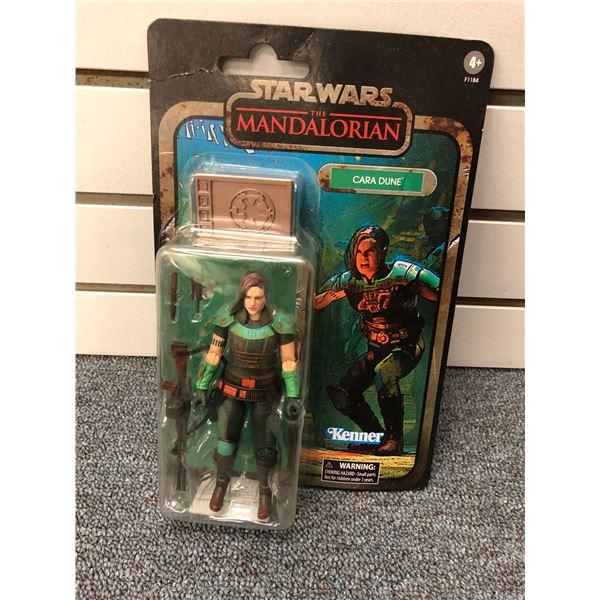 "Disney Star Wars The Mandalorian ""Cara Dune"" action figure (Kenner Hasbro in original box)"