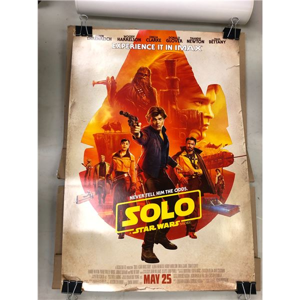 """7 Star Wars """"Solo"""" A Star Wars Story small movie poster - 13in x 19in"""