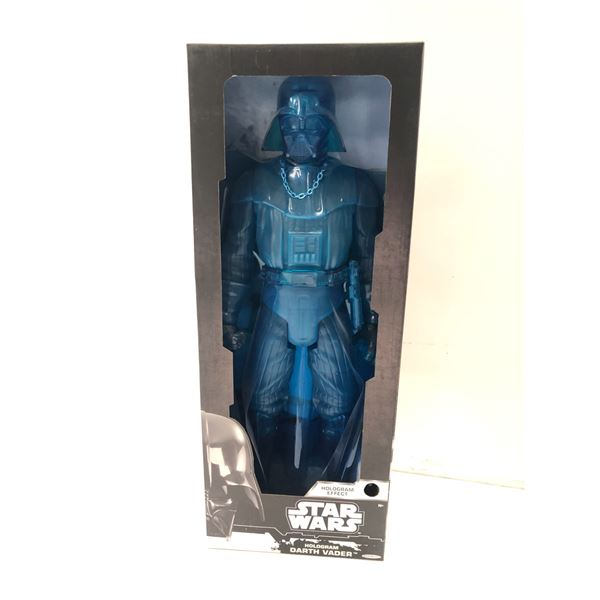 Star Wars limited edition 20in Hologram Darth Vader action figure (Jakks Pacific in original box)