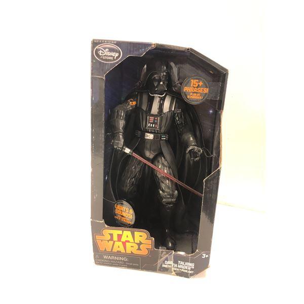Disney Star Wars talking Darth Vader action figure in original box