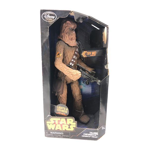 Disney Star Wars talking Chewbacca action figure in original box