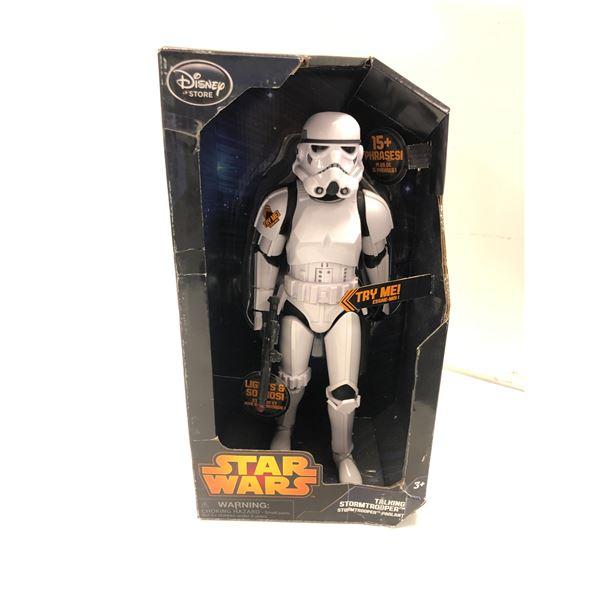 Disney Star Wars talking Stormtropper action figure in original box