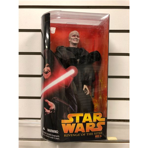 Star Wars Revenge of The Sith Darth Sidious action figure (Hasbro new in box)