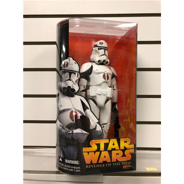 Star Wars Revenge of The Sith Clone Trooper action figure (Hasbro new in box)