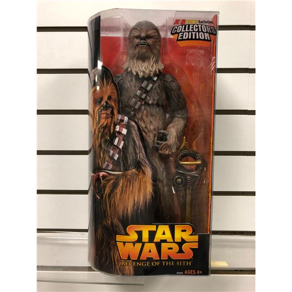 Star Wars Revenge of The Sith collectors edition Chewbacca action figure (Hasbro new in box)
