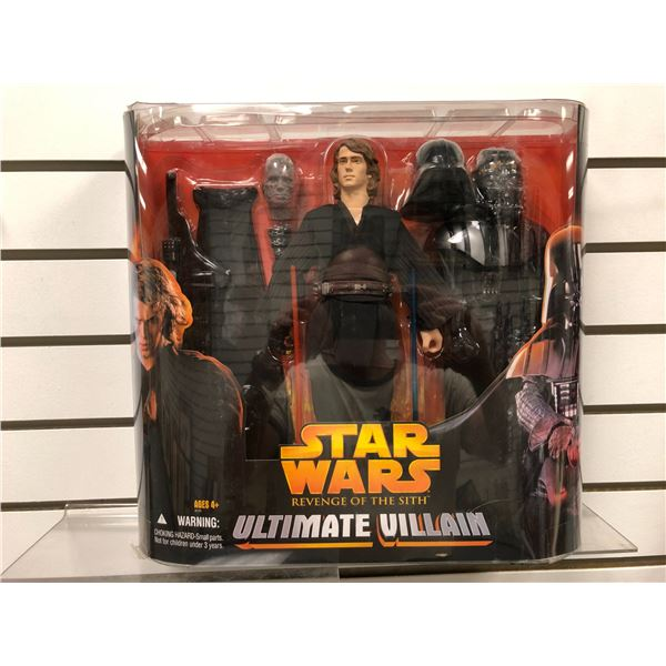 Star Wars Revenge of The Sith Ultimate Villain action figure set (Hasbro new in box)