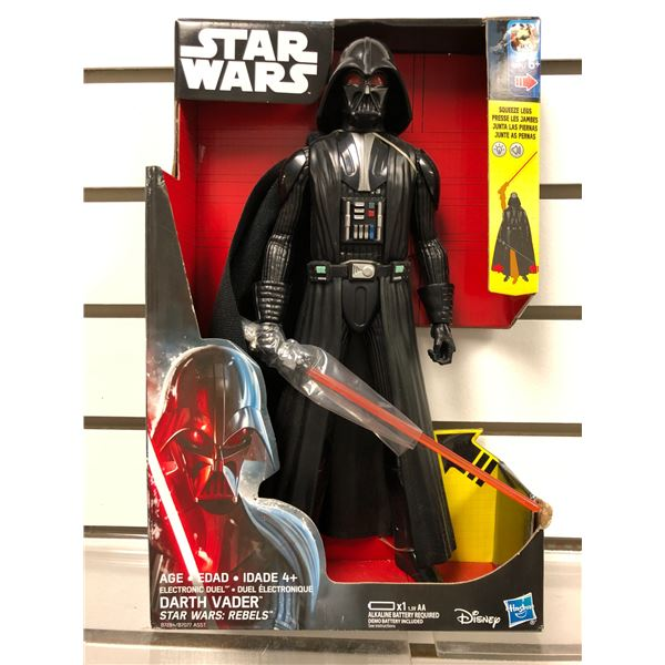 Disney Star Wars: Rebels Darth Vader electronic duel action figure (Hasbro new in box)