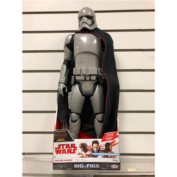 Disney Star Wars The Last Jedi Captain Phasma 20in action figure (Jakks Pacific new in box)